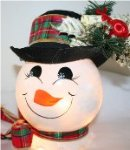 Handpainted Decorative Holiday Nightlights